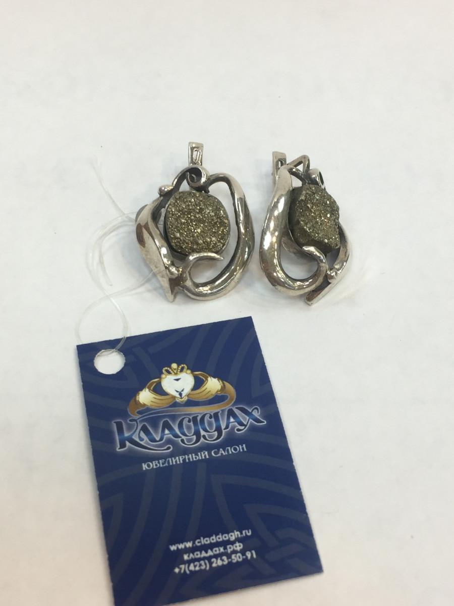 Серьги из серебра ручной работы Арт 022