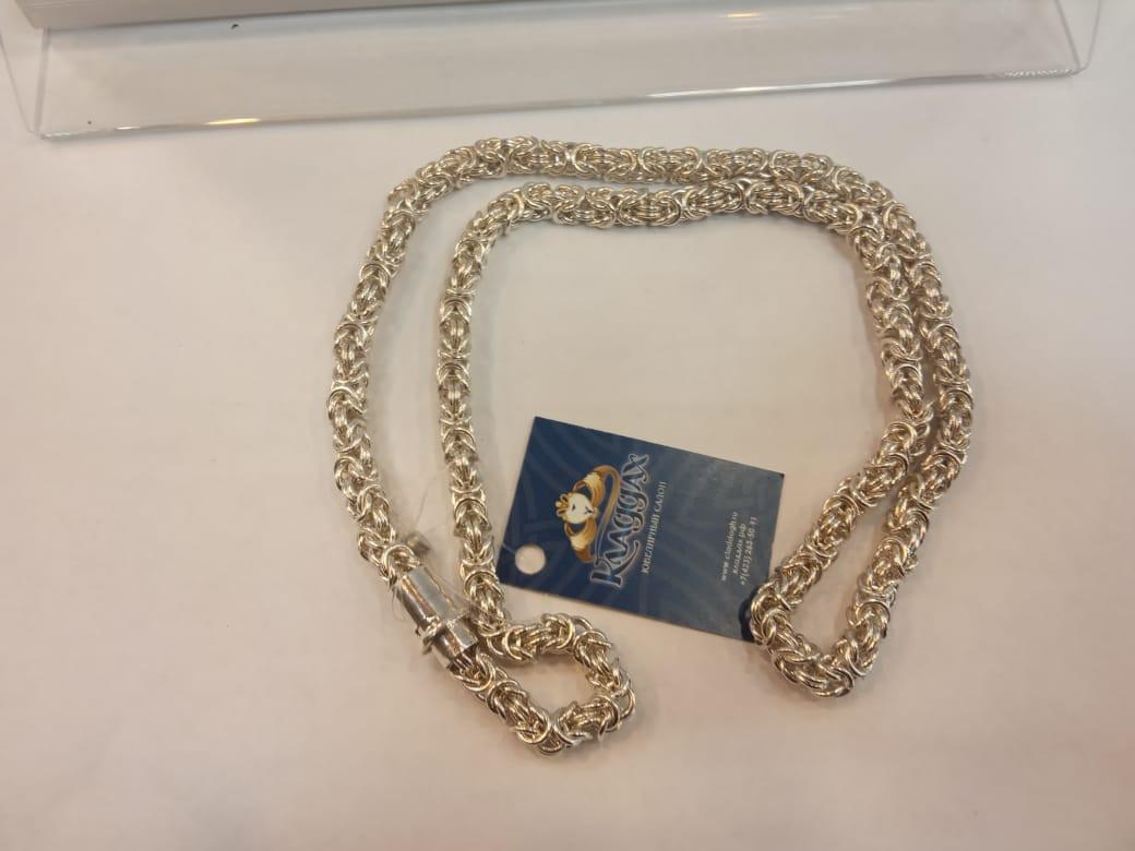 Серебряная цепь Арт 045