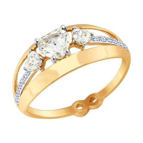 Золотое кольцо SOKOLOV Арт К-1435