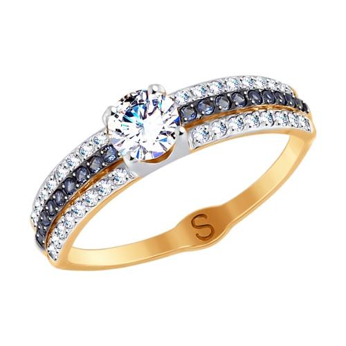 Золотое кольцо SOKOLOV арт К-1499