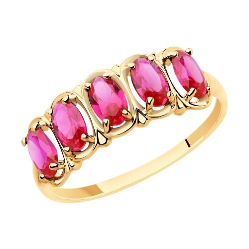 Золотое кольцо SOKOLOV арт К-1488