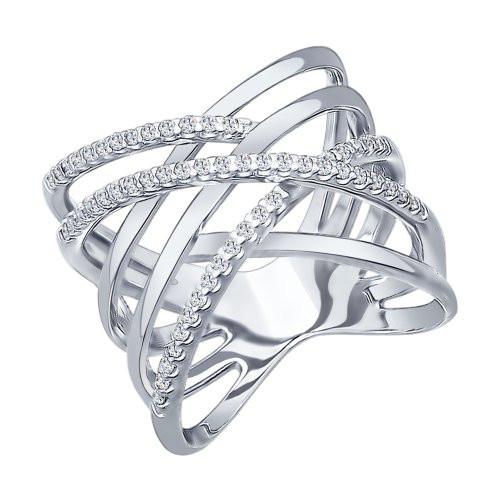 Кольцо из серебра Арт КС-246