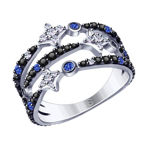 Кольцо из серебра Арт КС-255