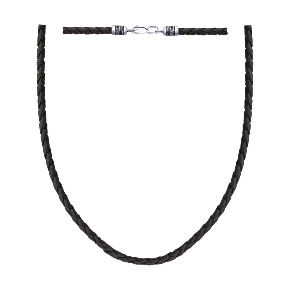 Шнур из чернёного серебра Арт ЦС-003